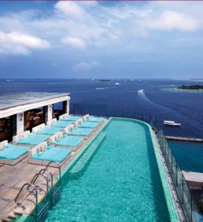 Hotel Jen Male Maldives Pool