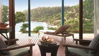Hotel Four Seasons Resort Seychelles Terasse