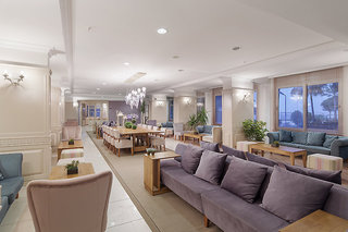 Hotel Club Turtas Beach Hotel Lounge/Empfang