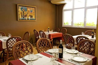 Hotel Apartamentos Monte Feliz Restaurant