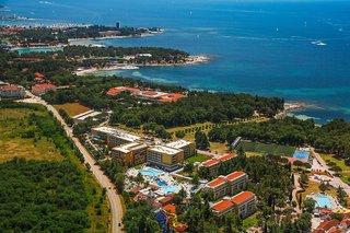Hotel Residence Sol Garden Istra for Plava Laguna Luftaufnahme