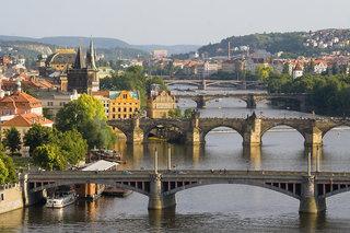 Hotel Astoria Prag Stadtansicht