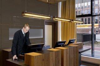 Hotel Citadines Michel Hamburg Lounge/Empfang