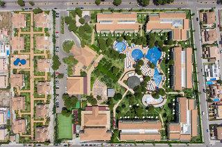 Hotel ZAFIRO Mallorca Luftaufnahme