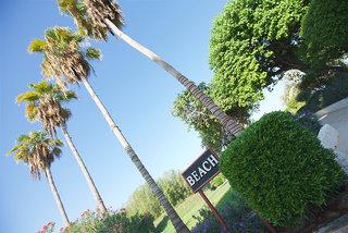 Hotel Bin Majid Beach Hotel Garten