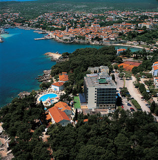 Hotel Drazica Resort - Hotel Drazica Luftaufnahme
