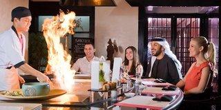 Hotel Crowne Plaza Dubai Restaurant