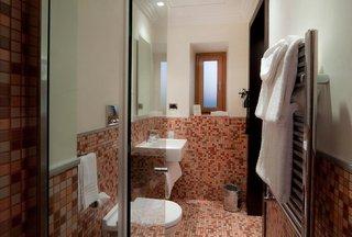 Hotel Marcella Royal Badezimmer