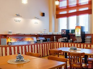 Hotel Cloister Inn Frühstücksraum