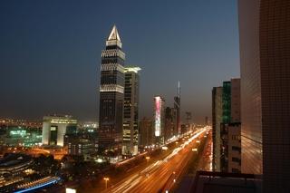 Hotel Crowne Plaza Dubai Stadtansicht