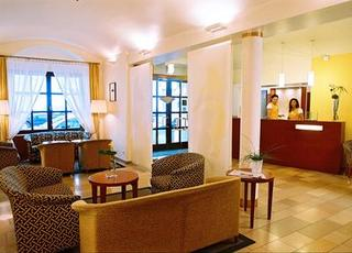 Hotel Das Tigra Hotel Wien Lounge/Empfang