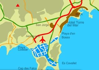 Hotel Torre Del Mar Landkarte