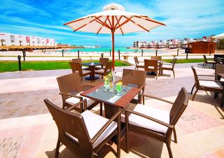 Hotel SUNRISE Grand Select Crystal Bay Resort Terasse