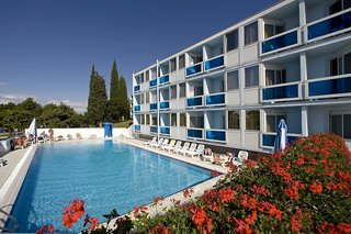Hotel Zelena Resort - Hotel Plavi Plava Laguna Außenaufnahme