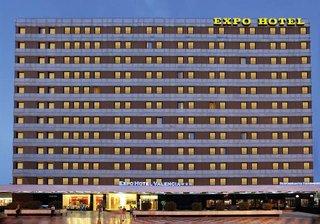Hotel Expo Valencia Außenaufnahme