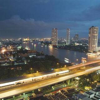Hotel Centre Point Silom Stadtansicht