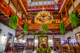 Hotel Marquesa Lounge/Empfang