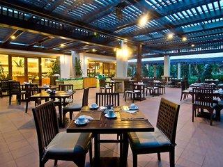 Hotel Ravindra Beach Resort Terasse