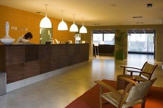 Hotel Magnolia - Erwachsenenhotel Lounge/Empfang