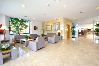 Hotel Dunes Platja Lounge/Empfang