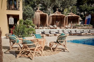 Hotel Bikini Island & Mountain Resort Terasse