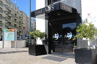 Hotel A.S. Lisboa Außenaufnahme