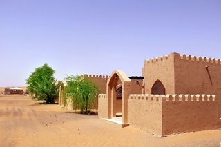 Hotel Arabian Oryx Camp Außenaufnahme