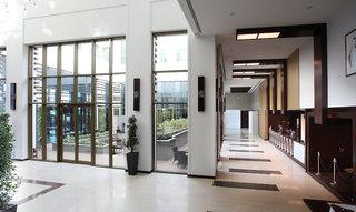 Hotel Metropolitan Hotel Dubai Lounge/Empfang
