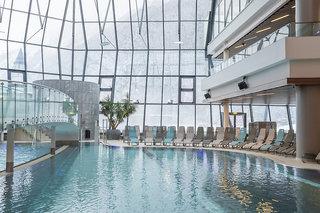 Hotel Aqua Dome - Tirol Therme Längenfeld Hallenbad