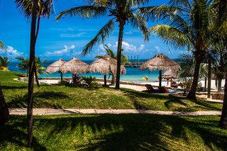 Hotel Dos Playas Beach House Hotel & Maya Caribe Beach House Hotel Garten