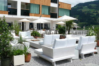 Hotel Alpenhotel Stefanie Terasse