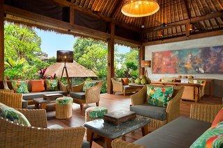 Hotel Adiwana Resort Jembawan Lounge/Empfang