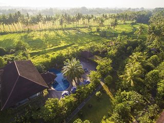 Hotel Bhuwana Ubud Hotel Luftaufnahme