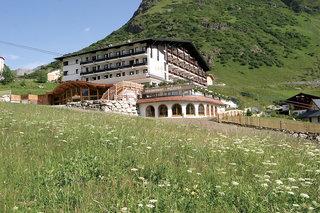 Hotel Almhof Galtür Außenaufnahme