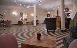 Hotel Alter Landsitz Lounge/Empfang