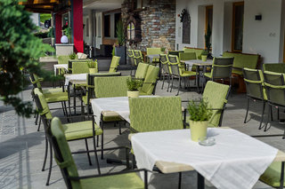 Hotel Ferienhotel Platzlhof Terasse