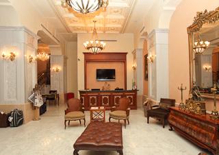 Hotel Palazzo Donizetti Lounge/Empfang