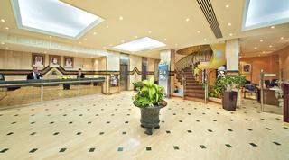Hotel Bin Majid Beach Hotel Lounge/Empfang