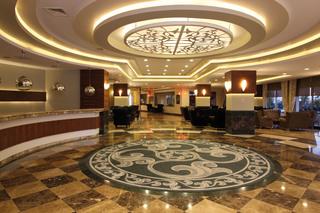 Hotel PrimaSol Hane Garden Lounge/Empfang