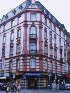 Hotel Comfort Hotel Frankfurt Central Station Außenaufnahme