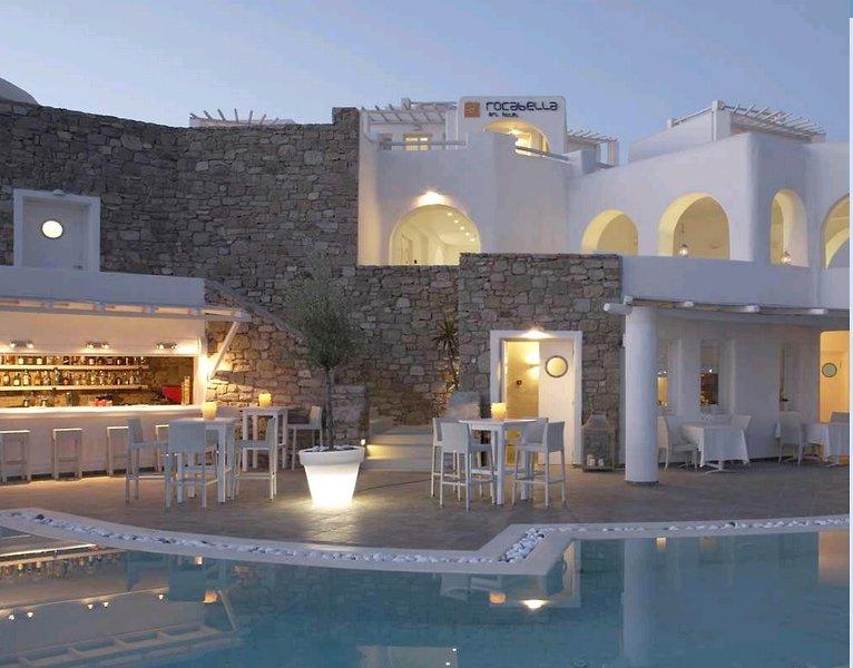 Rocabella Mykonos Art Hotel & Spa Außenaufnahme
