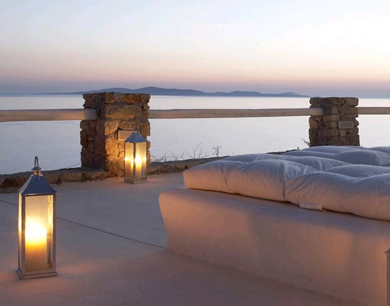 Rocabella Mykonos Art Hotel & Spa Terrasse