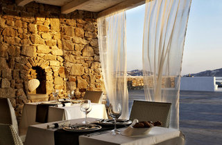 Rocabella Mykonos Art Hotel & Spa Restaurant