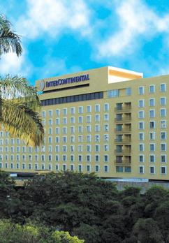 Intercontinental Cali Außenaufnahme