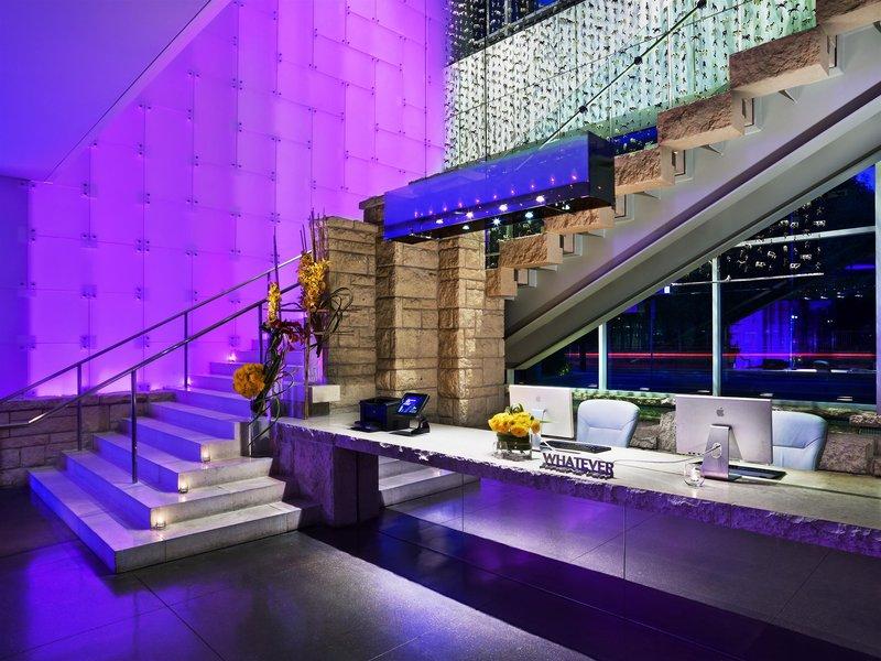 W Dallas Victory Lounge/Empfang