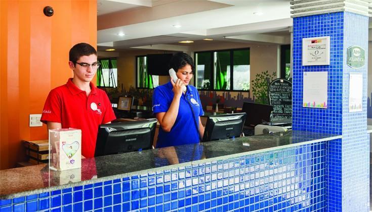Go Inn Jaguare Lounge/Empfang