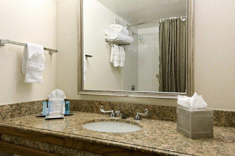 Hilton Houston Galleria Area Badezimmer