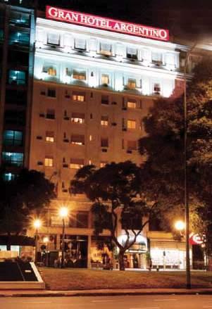 Gran Hotel Argentino Außenaufnahme
