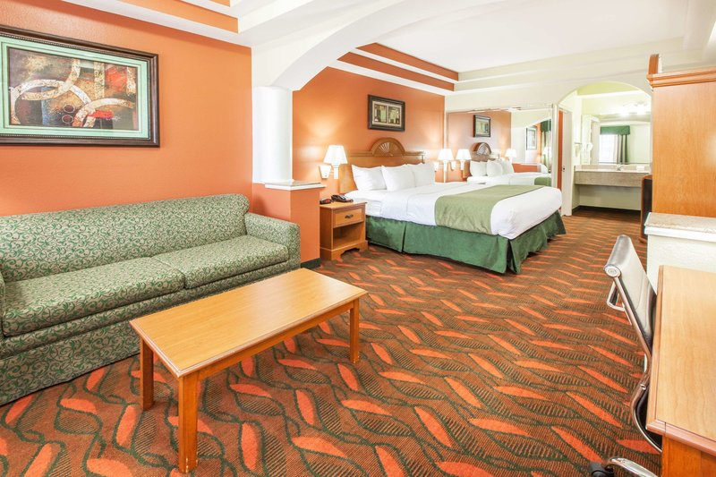 Days Inn & Suites Hobby Airport Lounge/Empfang