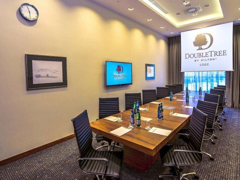 DoubleTree by Hilton Lodz Konferenzraum